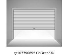 Garage Door Clip Art.