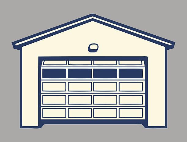 Best Garage Door Illustrations, Royalty.