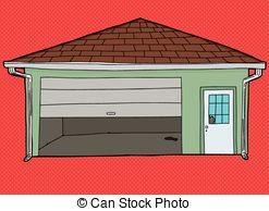 Garage door Clipart and Stock Illustrations. 2,545 Garage door.