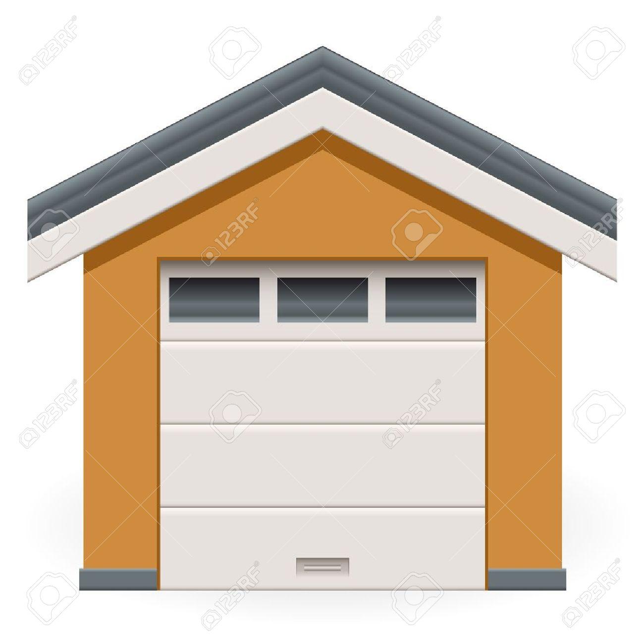 2,940 Garage Door Cliparts, Stock Vector And Royalty Free Garage.