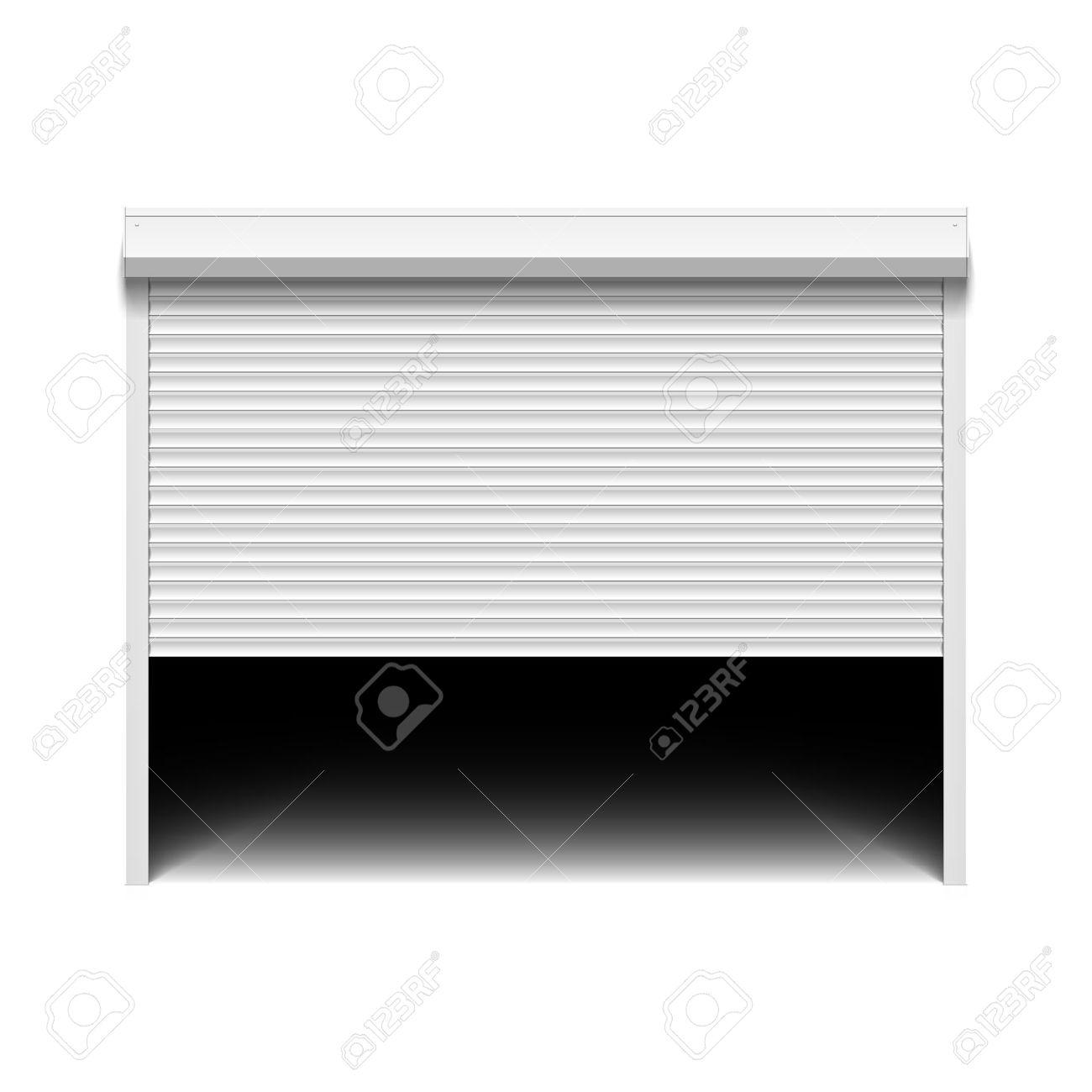 Garage door clipart.