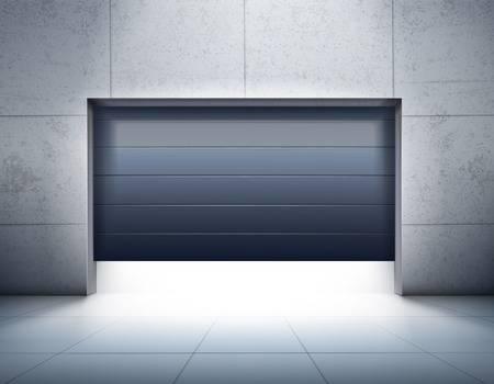 6,431 Garage Door Cliparts, Stock Vector And Royalty Free Garage.
