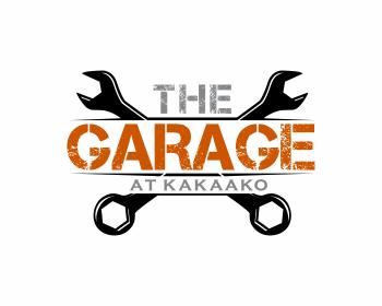 The Garage logo design contest. Logo Designs by artmean.