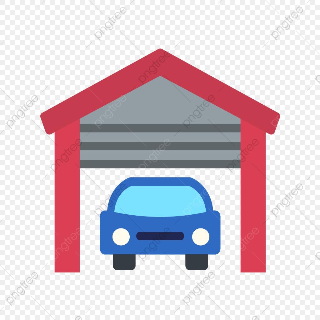 Vector Garage Icon, Car Garage Icon, Home Garage Icon, House Garage.