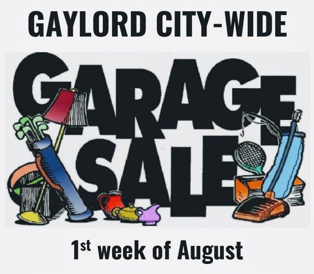 Citywide Garage Sales.
