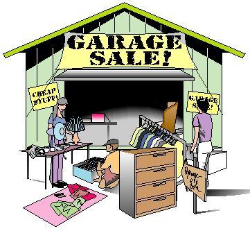 Garage sale pictures clip art free.