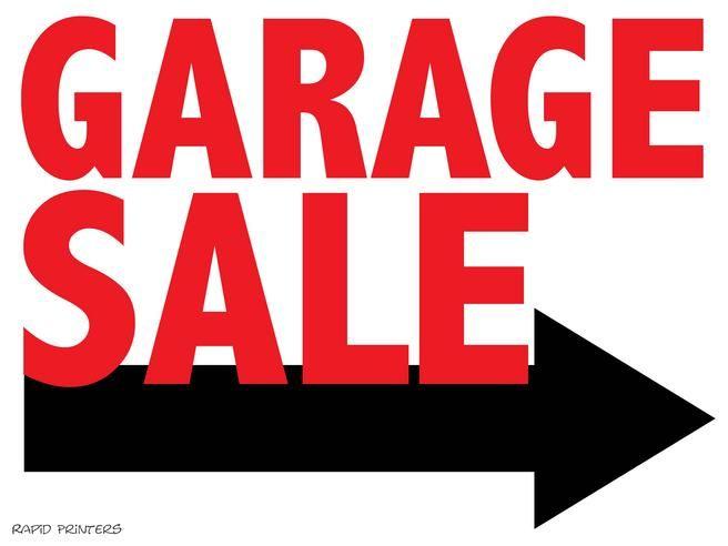 Garage Sale Signs Printable.