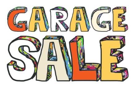 Free Garage Sale Clipart.