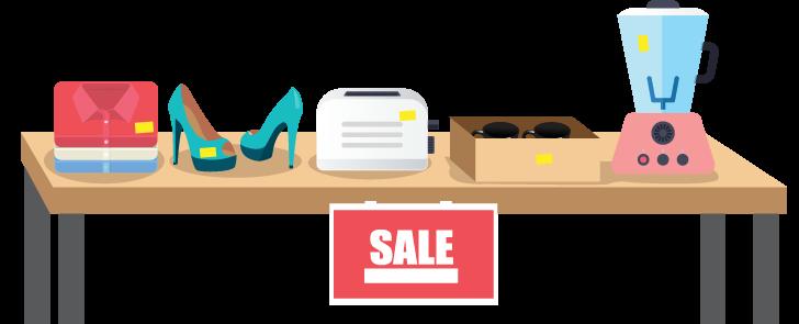 Garage Sale Png. Item Drop Off Unity Cli #44661.