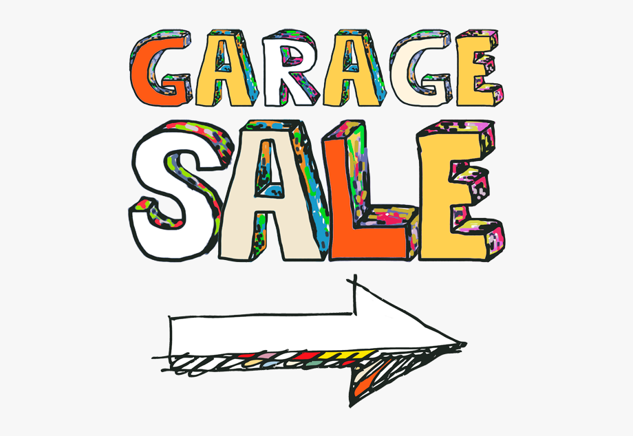 Attention 5th Graders Garage Sale And Bake Sale Sign.