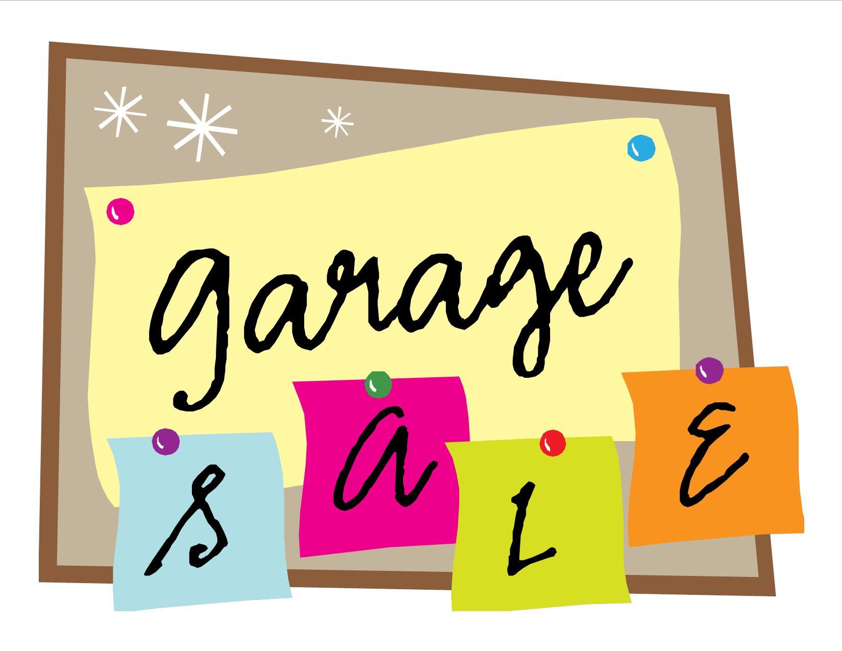 Garage sale clip art clipart.