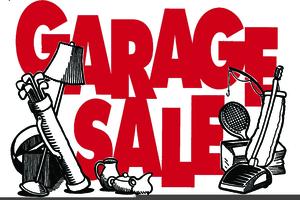 Garage Sales Clipart.