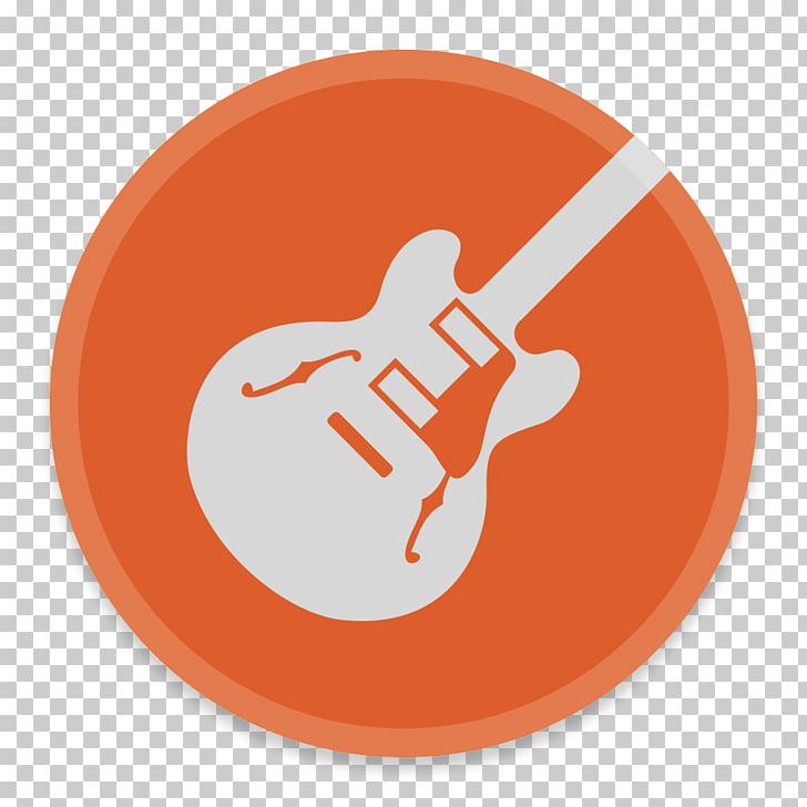 Brand orange logo, GarageBand PNG clipart.