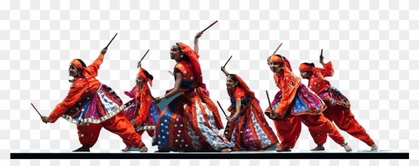 Raas Dancers.