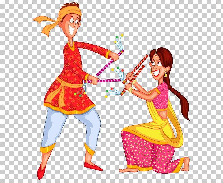 Dandiya Raas Garba Dance PNG, Clipart, Art, Cift, Clip Art, Clothing.