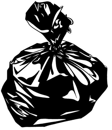 Garbage Bag Clipart.