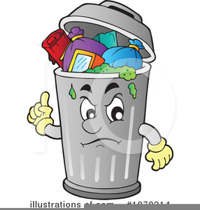 Clipart Of Garbage Bins.