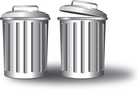 Free Free Vector Trash Can Clipart and Vector Graphics.