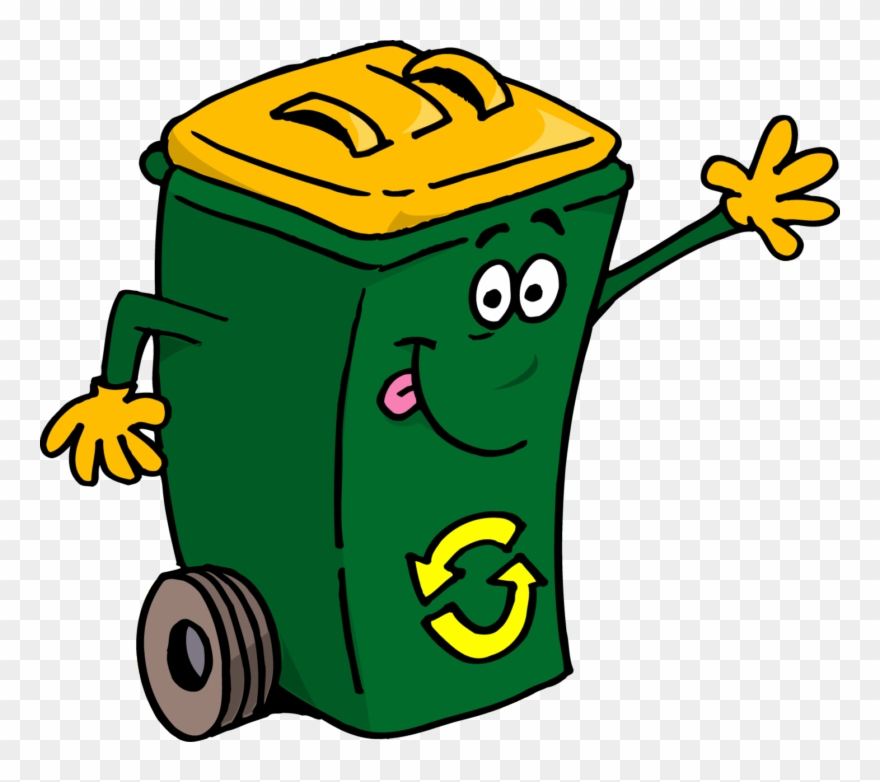 Container Clipart Waste Container.