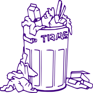 Classroom Trash Can Clipart.