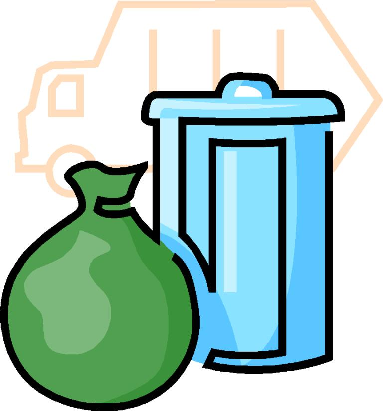 Garbage Day Clipart