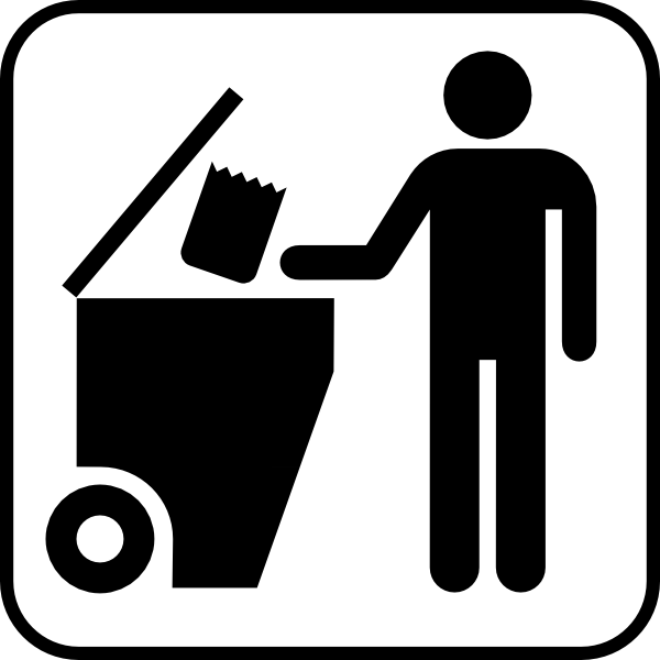 Trash Disposal Clip Art at Clker.com.