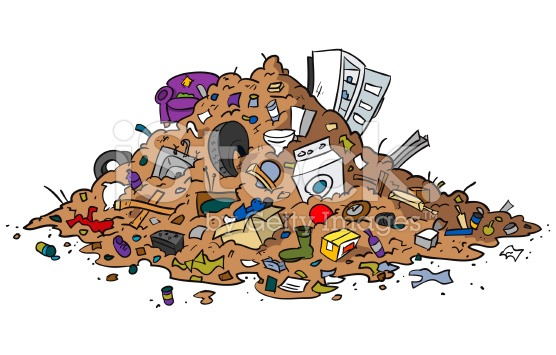 Pile Of Trash Clipart.