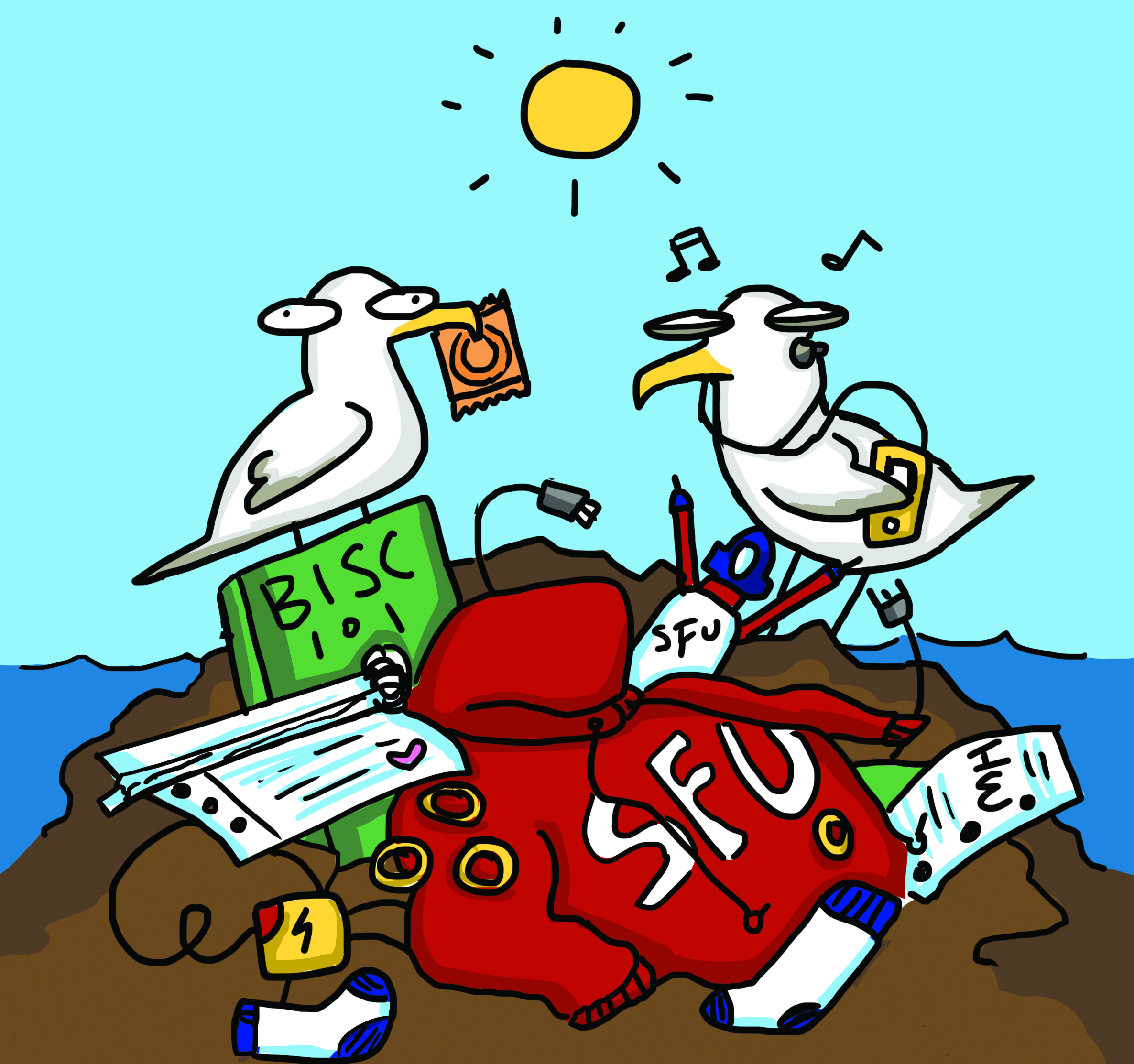 Great Pacific Garbage Patch Clipart.