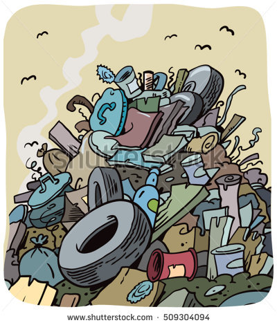 Trash pile clipart 3 » Clipart Station.