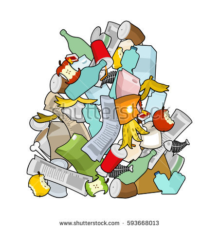 Garbage pile clipart » Clipart Station.
