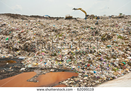 Mount Garbage, Pollution, Bad Life Stock Photo 62099119 : Shutterstock.