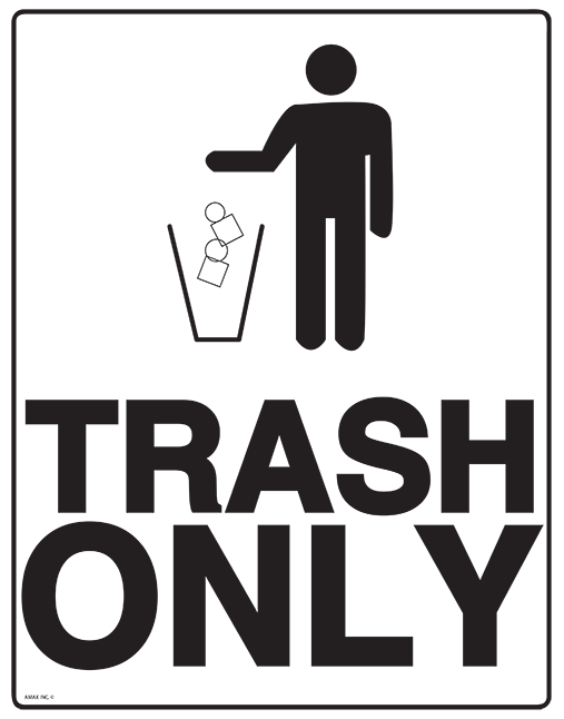 Free Trash Sign, Download Free Clip Art, Free Clip Art on Clipart.