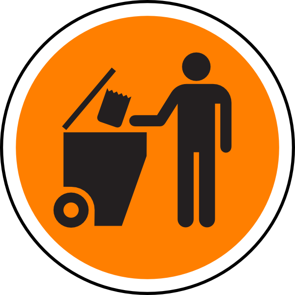 Garbage clipart road clipart, Garbage road Transparent FREE.