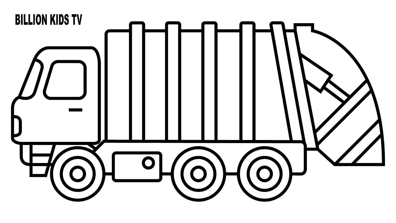 garbage truck clipart.