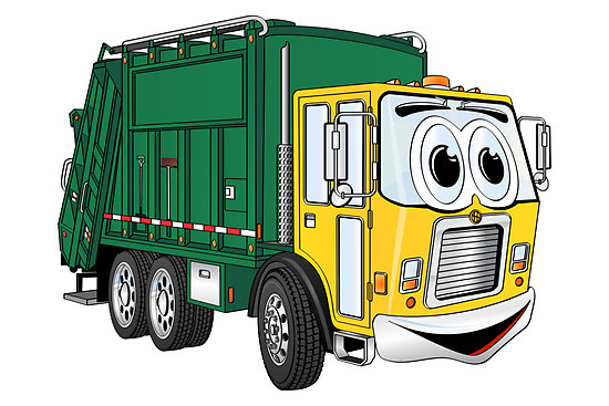 Garbage truck clipart free 5 » Clipart Station.