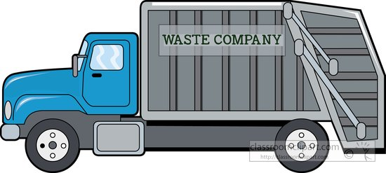 Truck city garbage truck clipart clipart.