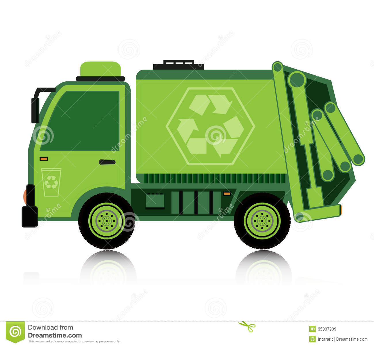 Garbage Truck Clipart. Clip Art. Ourcommunitymedia Free Clip Art Images.