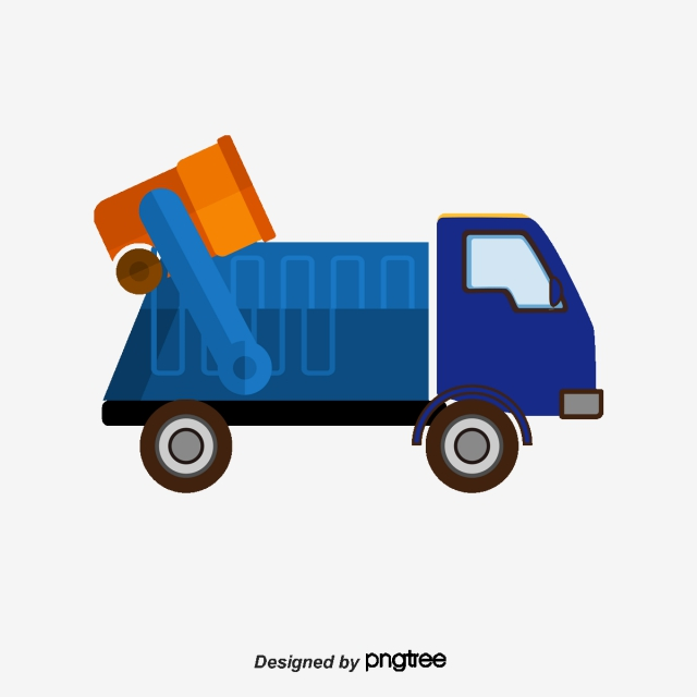 Garbage Truck Png, Vector, PSD, and Clipart With Transparent.