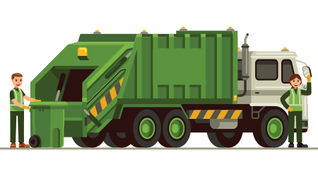 Land vehicle,Vehicle,Transport,Garbage truck,Truck,Mode of transport.