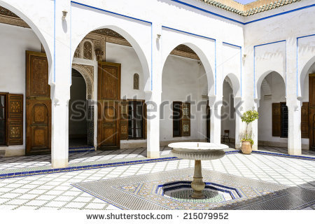 Bahia Palace Stock Photos, Royalty.