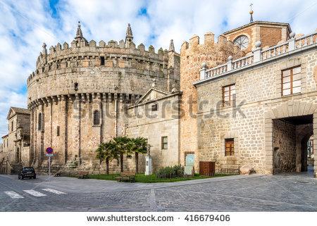 Cathedral Of Avila Stock fotos, billeder til fri afbenyttelse og.