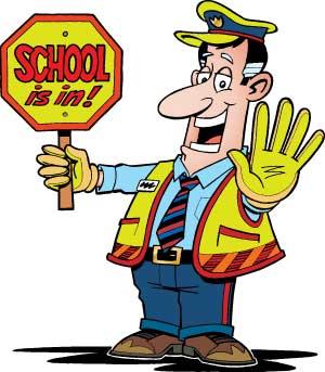 School Crossing Guard Clipart.
