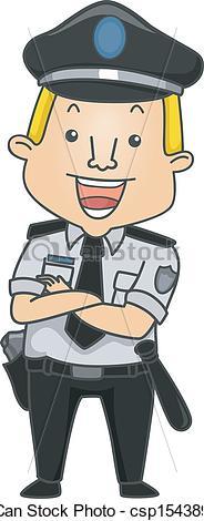 Security guard clip art.