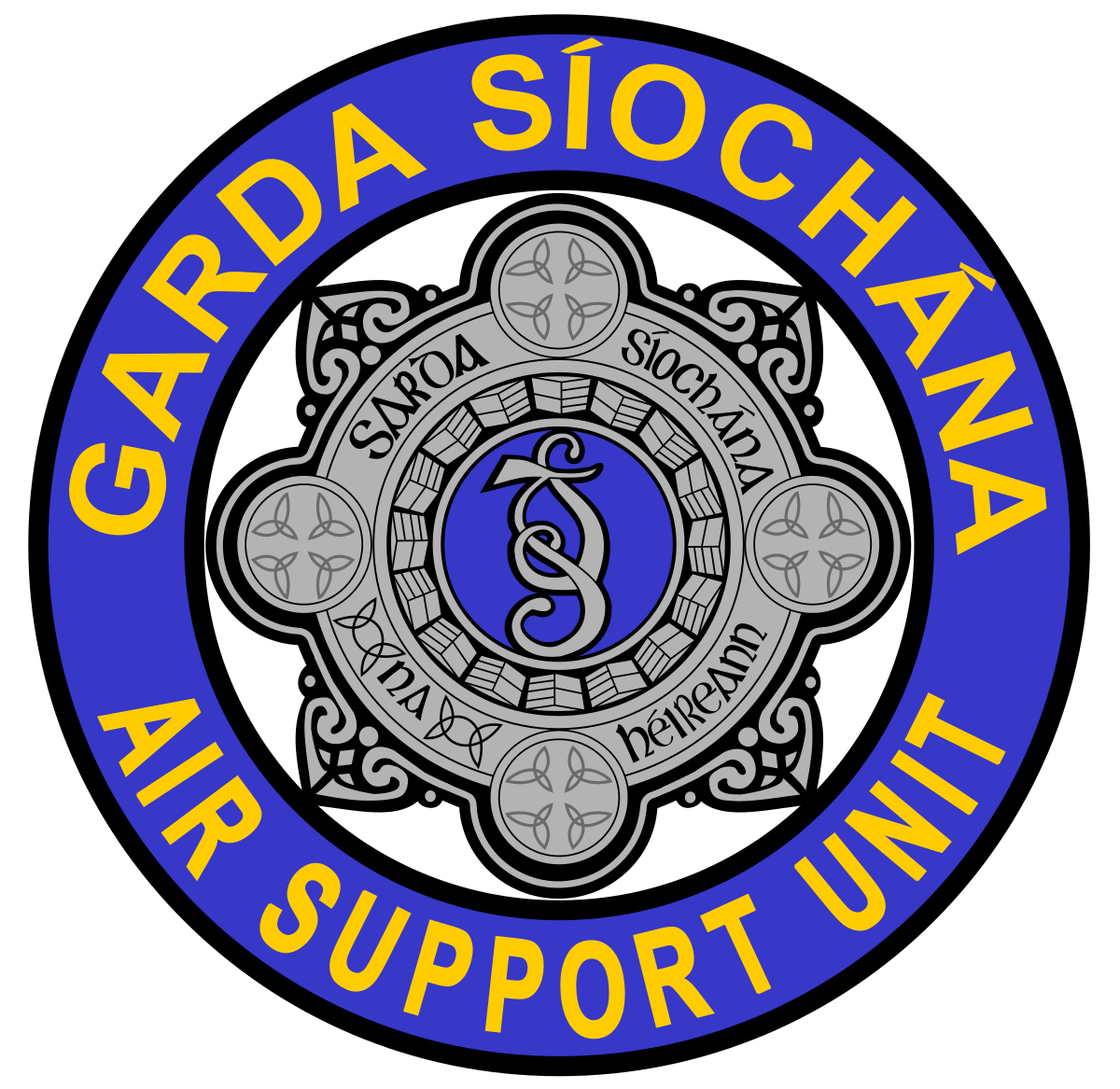 Garda Air Support Unit.