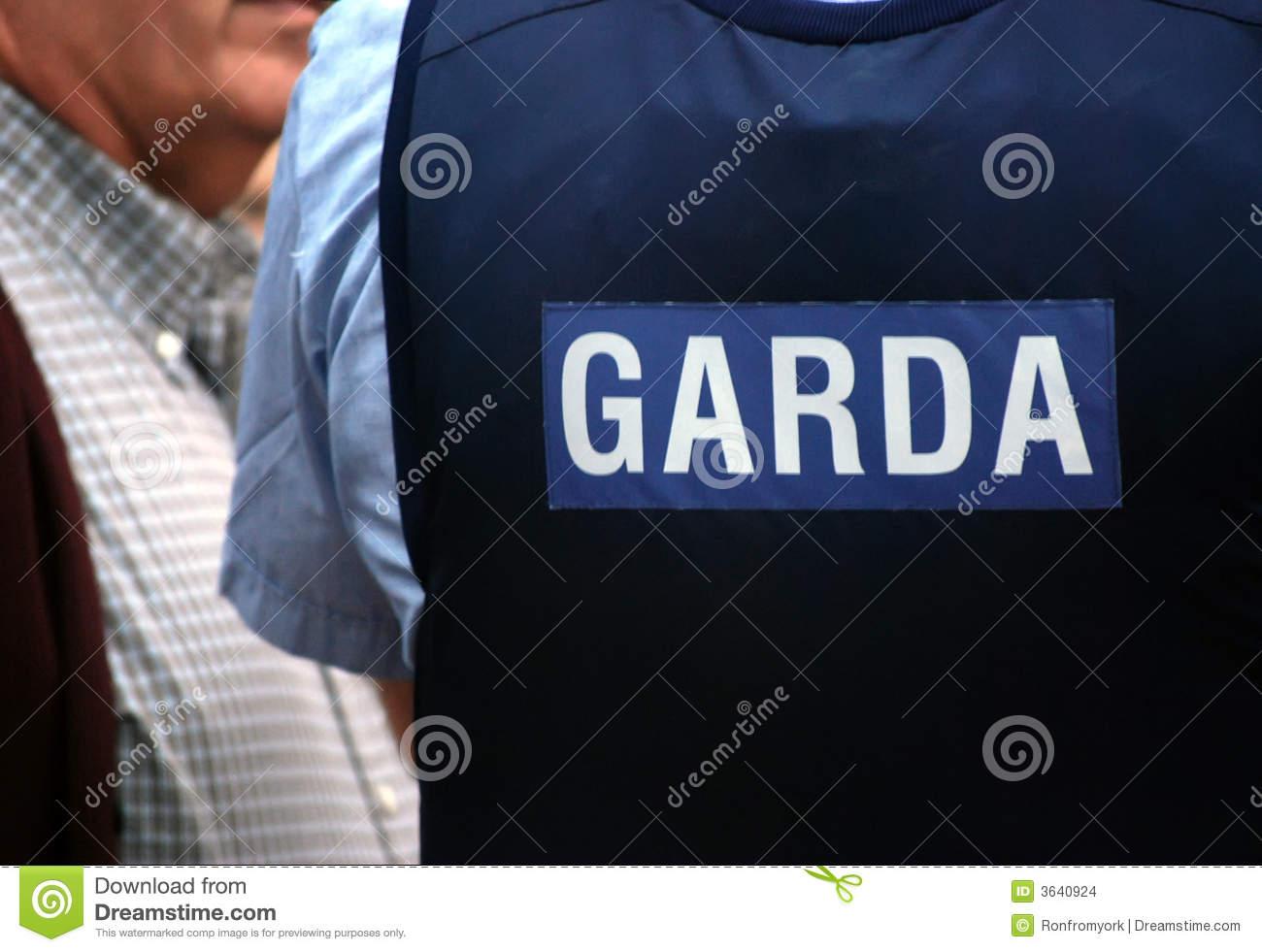 Irish Police Uniform GARDA Stock Images.
