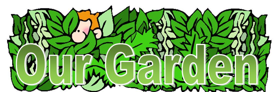 Community Garden Clip Art.
