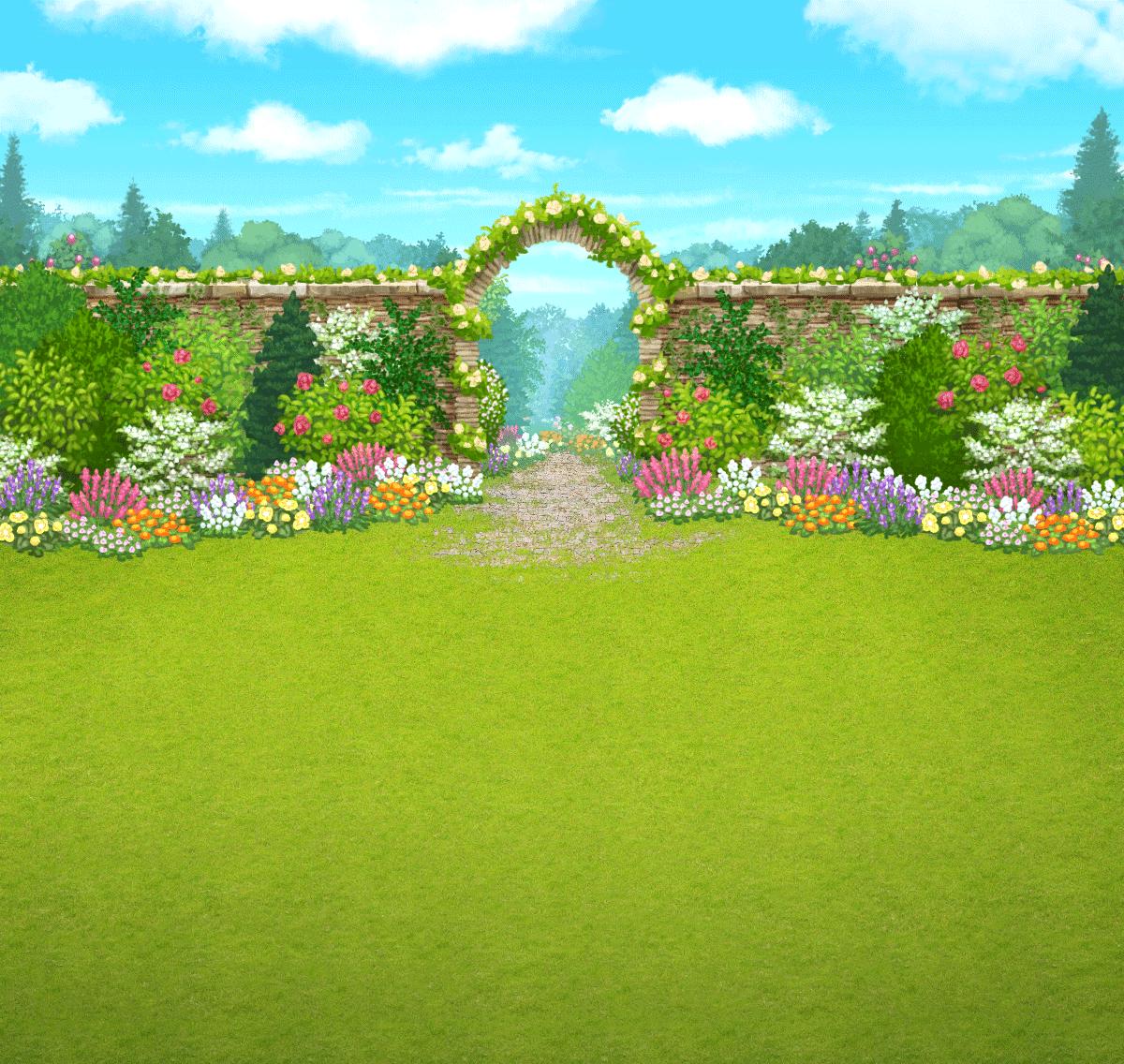 Garden Background Hd Png.