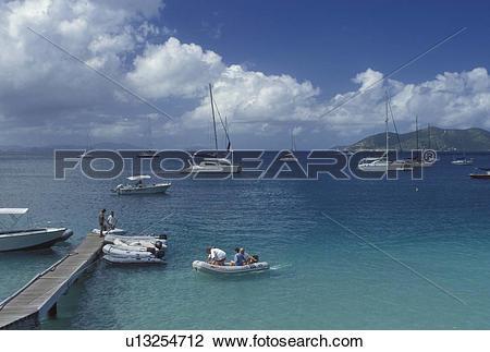 Stock Photo of Tortola, British Virgin Islands, Caribbean, BVI.
