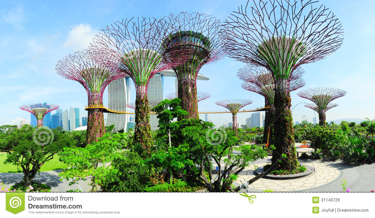 Gardens By The Bay Editorial Stock Image.