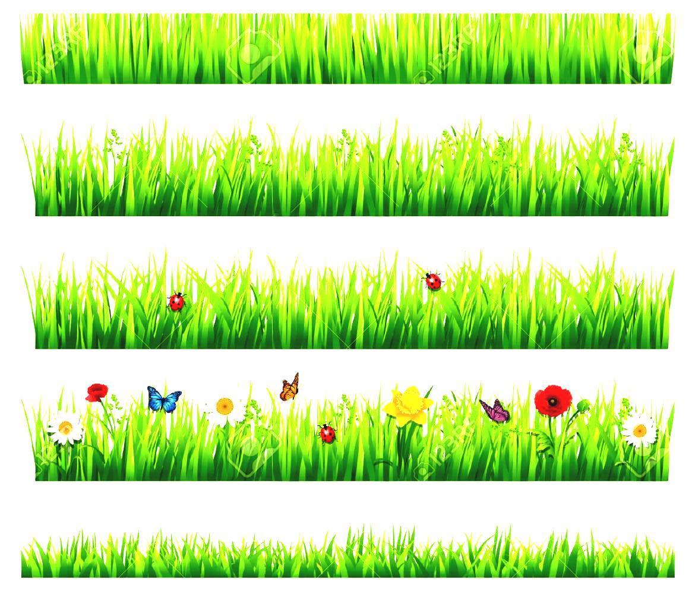 Garden border clip art.